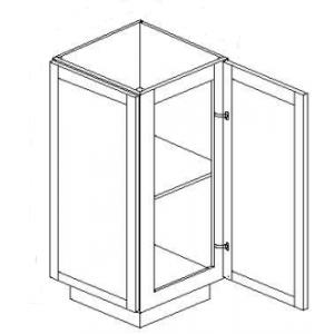 Base Cabinets - Angle Base End Cabinet