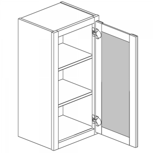 Wall Cabinets - Single Open Frame Door