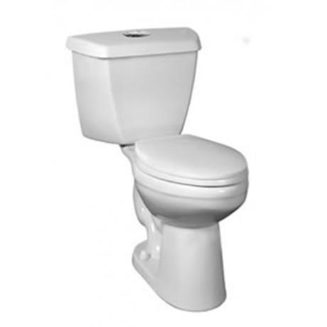 Eco Saratoga Dual Flush Complete Toilet
